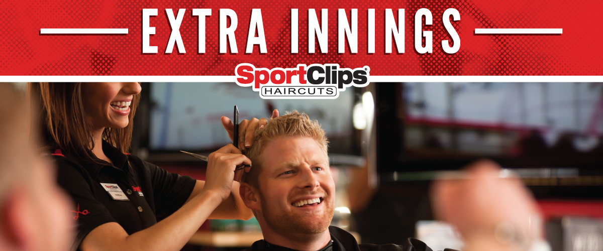 The Sport Clips Haircuts of Brookhaven Plaza Extra Innings Offerings